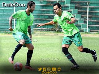 Julio César Pérez y Sebastián Gamarra volvieron a hacer fútbol - Oriente Petrolero - DaleOoo
