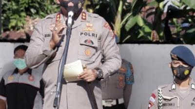 Pimpin Apel Perdana, Kapolda Sulut Irjen Pol Nana Sudjana: Kalau Ada Polisi Mabuk, Saya Minta Segera Masukkan ke Sel
