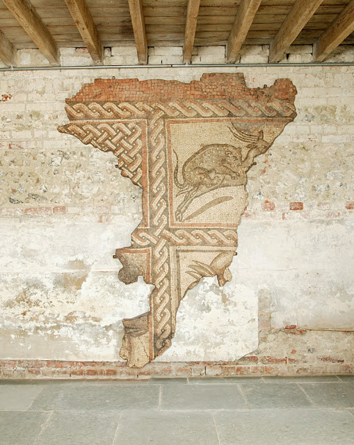 Culture Minister places temporary export bar on ancient mosaic from Roman Dorset