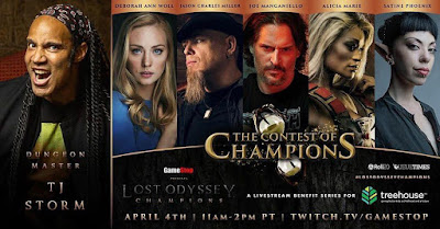 Contest of Champions Benefit Stream April 4th