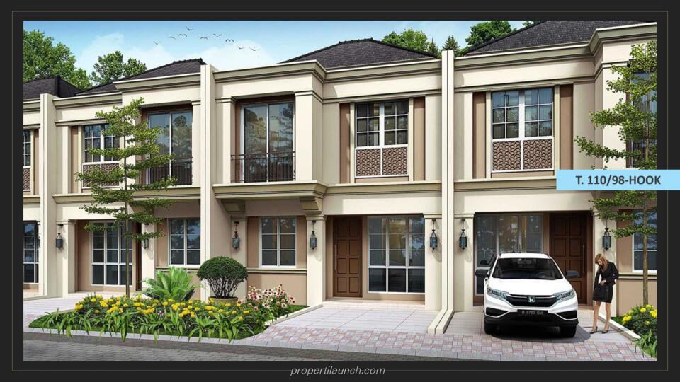 Rumah Savia Park @ Nusa Loka BSD Tipe 110