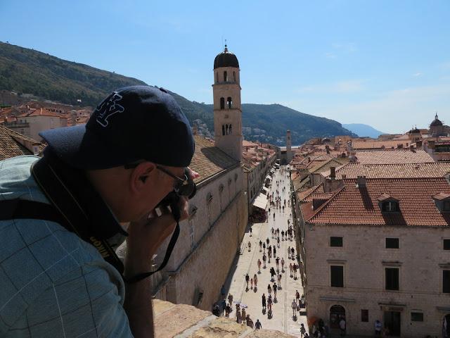 Calle Stradun desde la muralla - Que ver en Dubrovnik