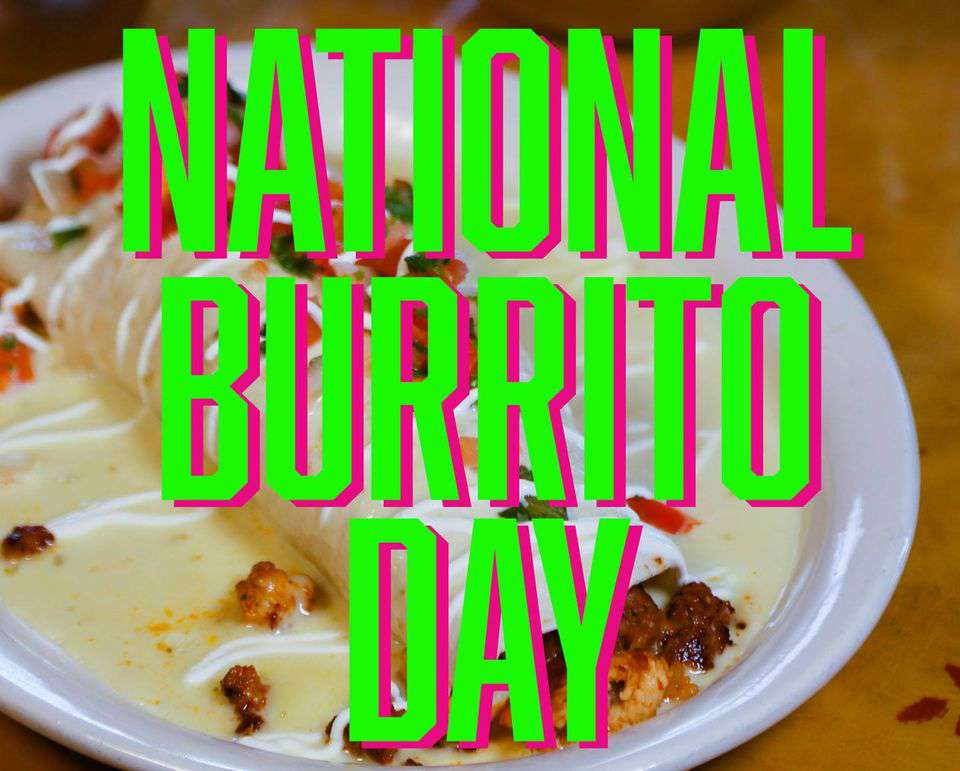 National Burrito Day Wishes Sweet Images