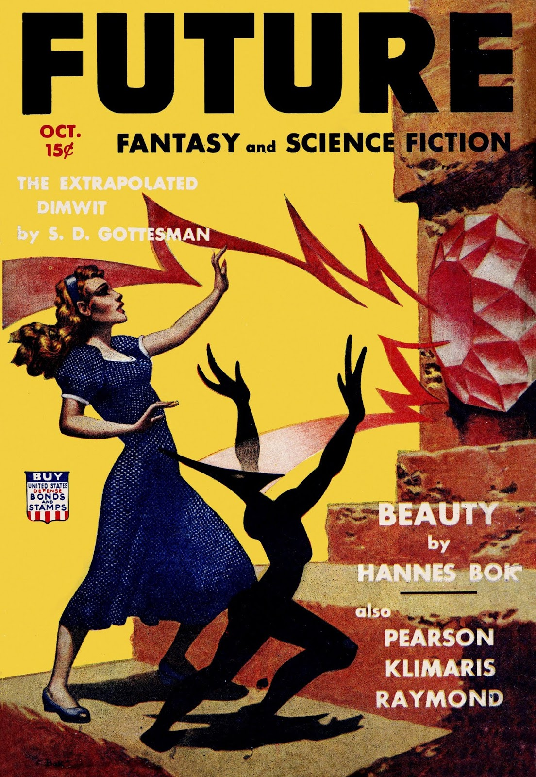 fiction science magazine covers bloody rod