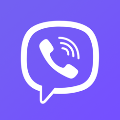 Viber icon -An instant messaging app