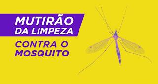 Mutirão da limpeza contra a Dengue em Cajati