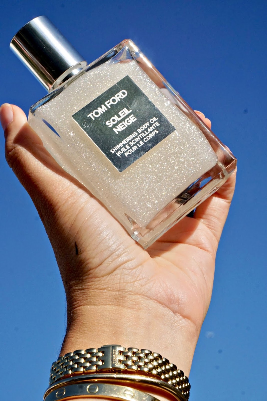 Tom Ford soleil neige body oil