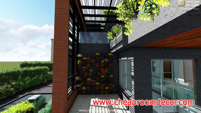 Modern Main Entrance Design Ideas for Home 9
