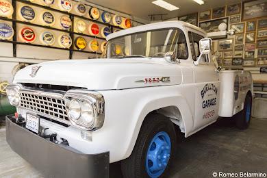 Mendenhall's Museum Tow Truck Buellton California Weekend Getaway