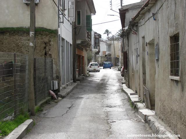 Турецкая Никосия - старенькие дома