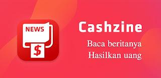 aplikasi penghasil uang terbaik - cashzine