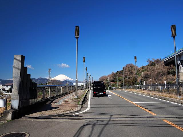 川音川 籠場橋 富士山