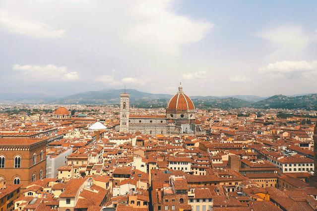 Vista di Firenze da palazzo vecchio