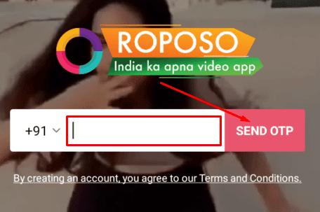 Roposo App कैसे use करे