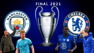 Ingleses Chelsea e Manchester City decidem a Champions League neste sábado, em Portugal.