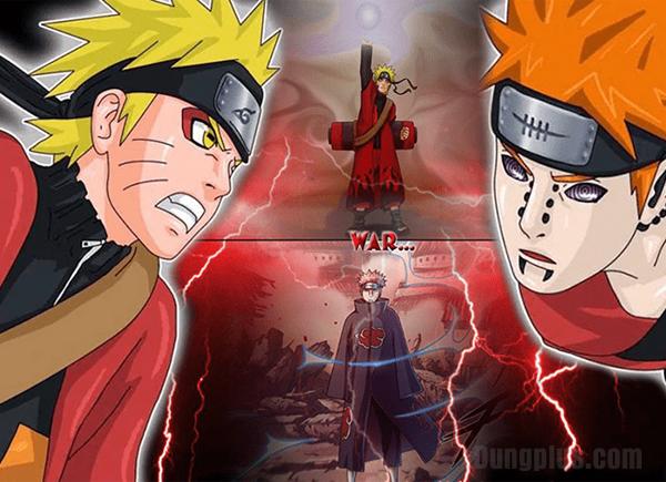 Trận chiến giữa Naruto với Pain ( Lục Đạo )