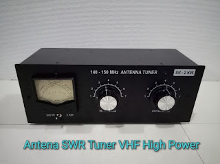 Antena SWR Tuner VHF High Power Khusus untuk Boster 2 Meter Band