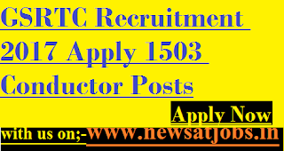 GSRTC-jobs-Apply-1503-Conductor-Posts