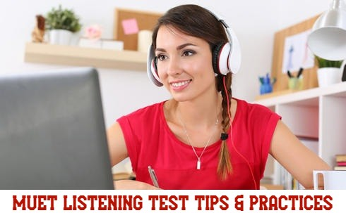 A Compilation of MUET Listening Examination Practices For MUET-CEFR Candidates