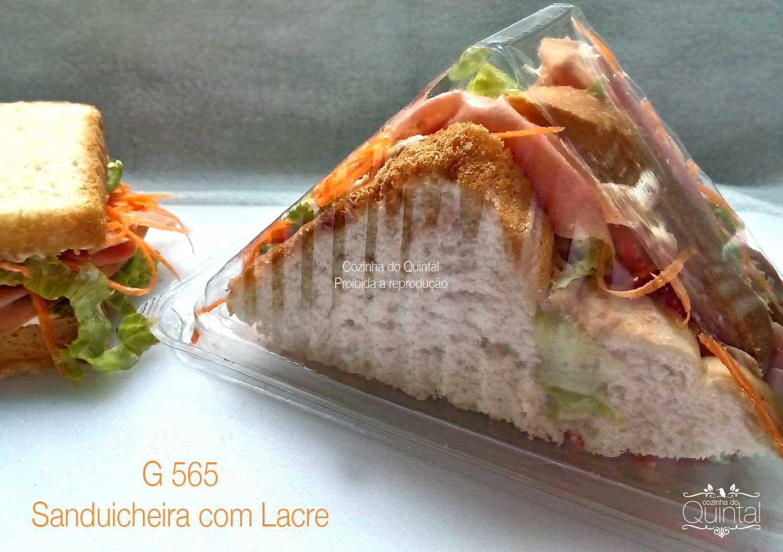 Sanduicheira Galvanotek com Lacre G 565 na Cozinha do Quintal
