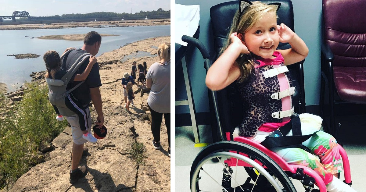 Teacher Carried A Disabled Student On His Back So That She Could Attend Her School Trip