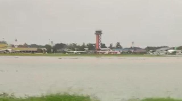 Banjir, Bandara Halim Ditutup
