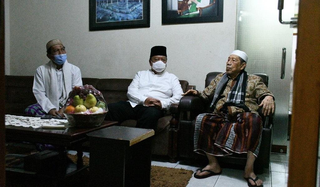 Pjs. Bupati Cianjur Kunjungi Pimpinan Ponpes Al – Muthmainah, Ini yang Dibahas