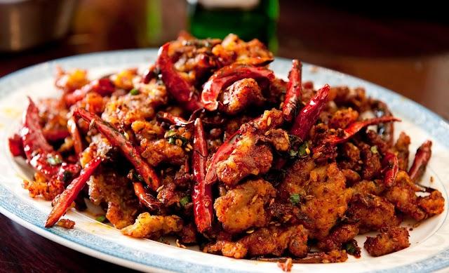 கிரிஸ்பி மிளகாய் சிக்கன்   -  Crisphy Milagai Chicken