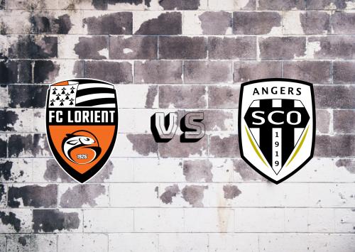 Lorient vs Angers  Resumen