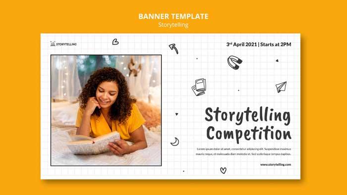 Storytelling Banner Template