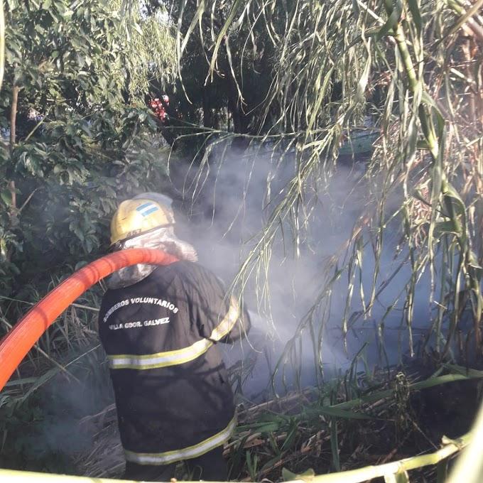 Se incendiaron dos cañaverales más, por Sarmiento, van 10 en una semana y preocupa por la cercanía con las viviendas