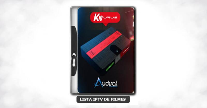 Audisat K10 urus nova atualização adicionado 61w - V2.0.44