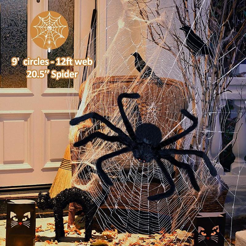 50% OFF Beacon Halloween Spider Decorations
