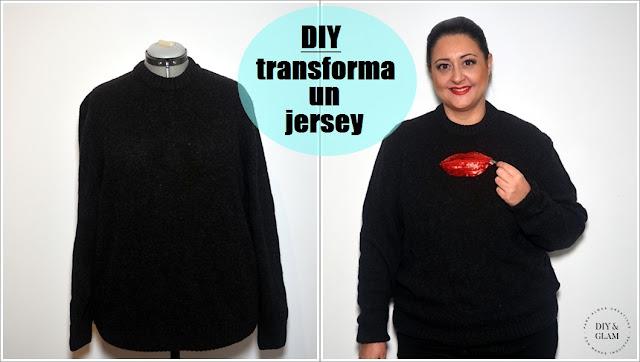 DIY transforma un jersey