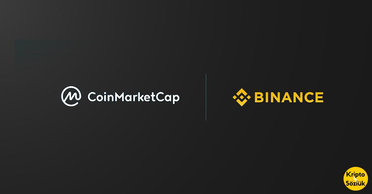 Binance Coinmarketcap'i satın alıyor