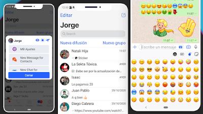 con este metodo puedes tener el whatsapp de los iphone en cualquier telefono android