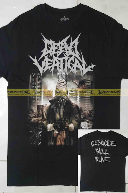 T-Shirt DEAD VERTICAL - Genocide