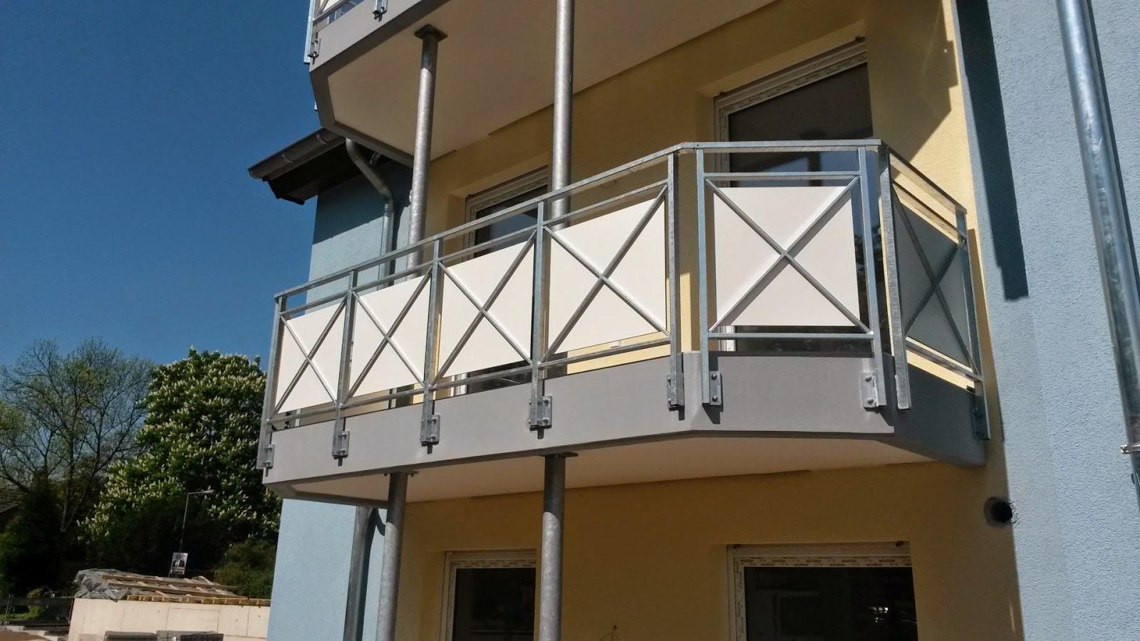 balkongel nder mit trespa meteon damiansweg k ln fr bel metallbau. Black Bedroom Furniture Sets. Home Design Ideas