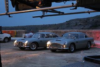 le Aston Martin di 007  a Matera