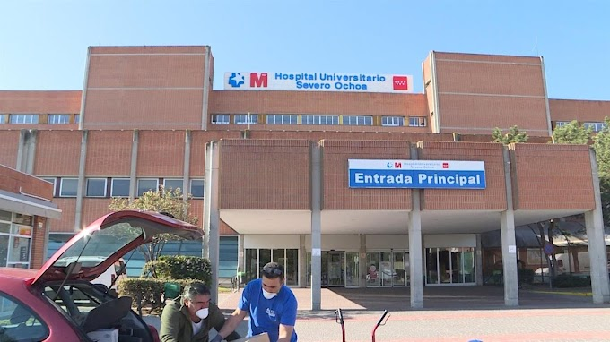 Las urgencias del Severo Ochoa de Leganés recuperan el nivel previo al coronavirus