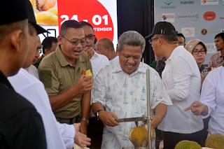 Bupati Kubu Raya Apresiasi Pelaksanaan Festival Durian di Bumi Khatulistiwa 2019