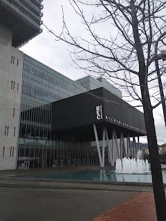 Fachade del BEC Bilbao Exhibition Centre