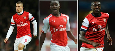 Arsenal boss Arsene Wenger confirms trio return