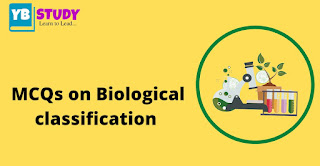 MCQs on biological classification for NEET