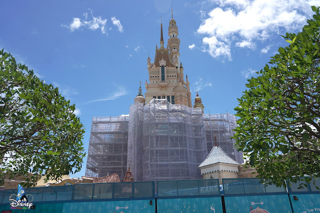 奇妙夢想城堡, Castle of Magical Dreams, 香港迪士尼樂園, Hong Kong Disneyland, HK, Construction Update, Disney Magical Kingdom Blog, HKDL Castle, hKDK, HK Disneyland,  香港迪士尼 Blog