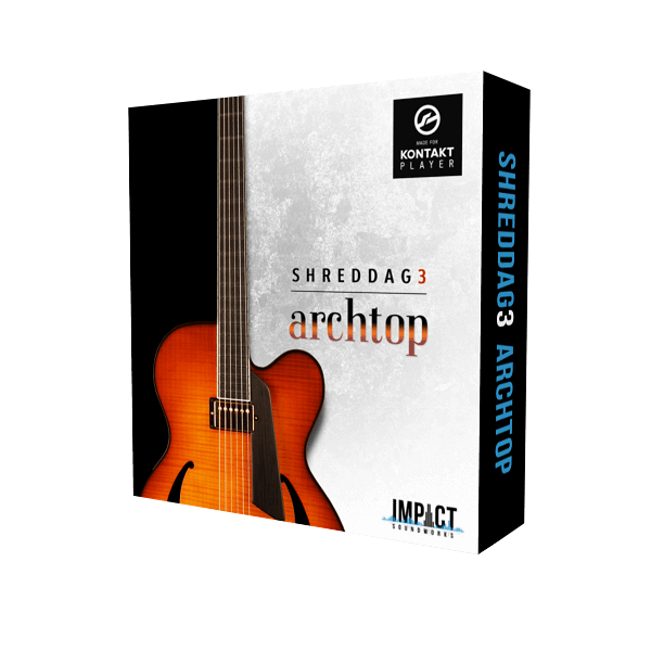 Impact Soundworks - Shreddage 3 Archtop