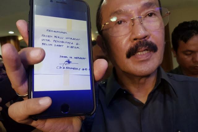 KPK Tangkap Fredrich Yunadi