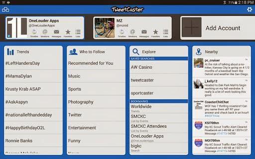 Download TweetCaster 873 Twitter APK For Android Terbaru