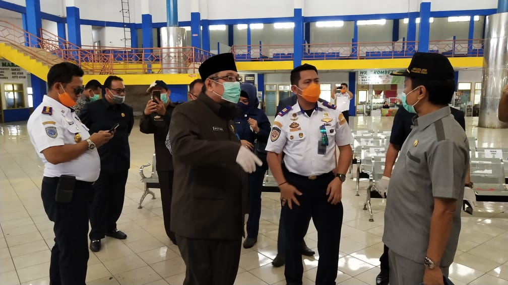 Komisi IV DPRD Lampung Tinjau Simpul-Simpul Transportasi Publik