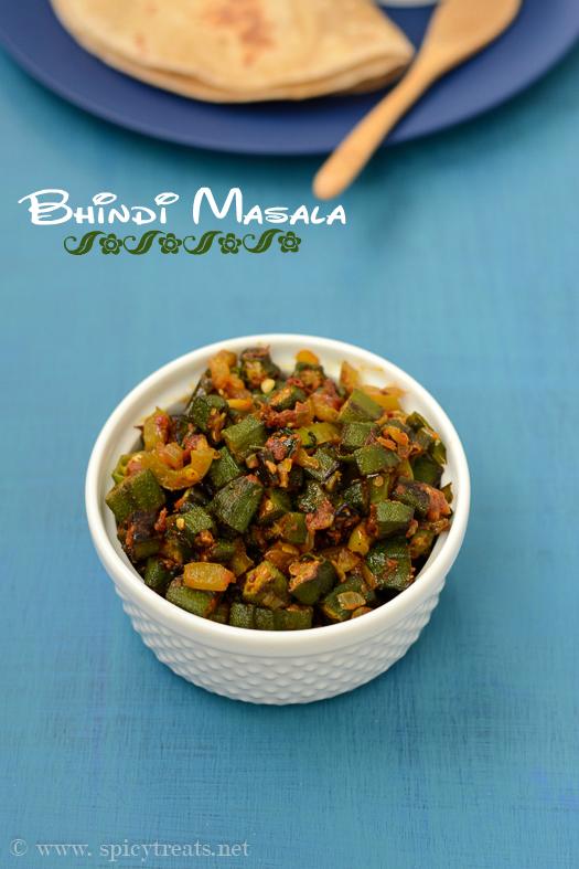 Bhindi Dry Sabzi